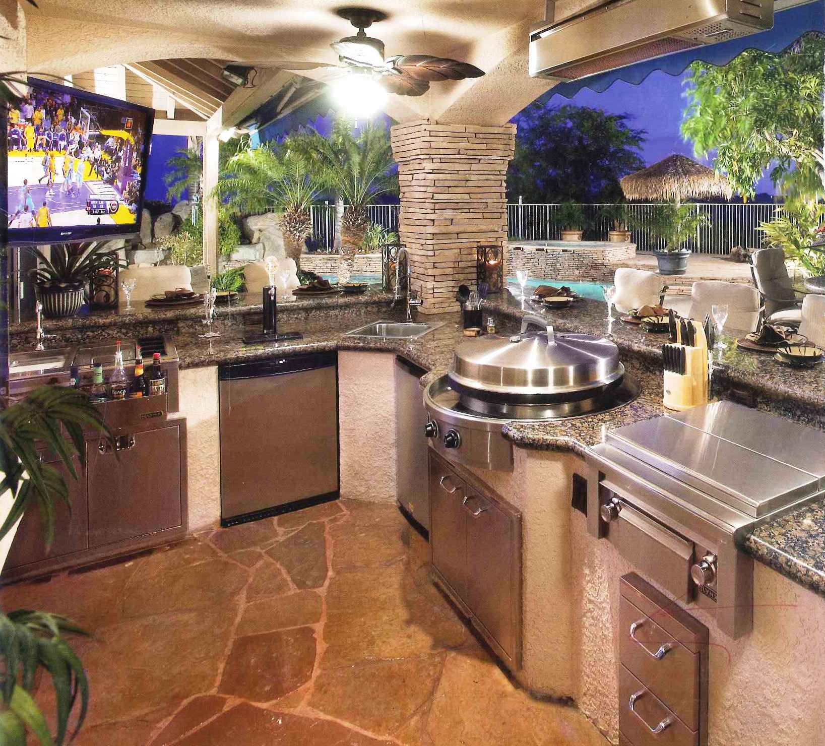 Design services ltd a day in the life of a designer for Design your outdoor kitchen
